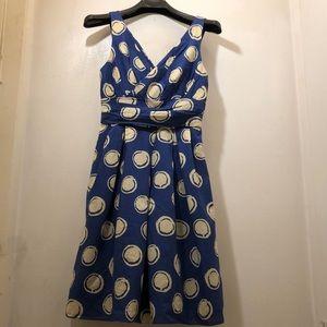 Lavender Label Vera Wang sleeveless mini dress